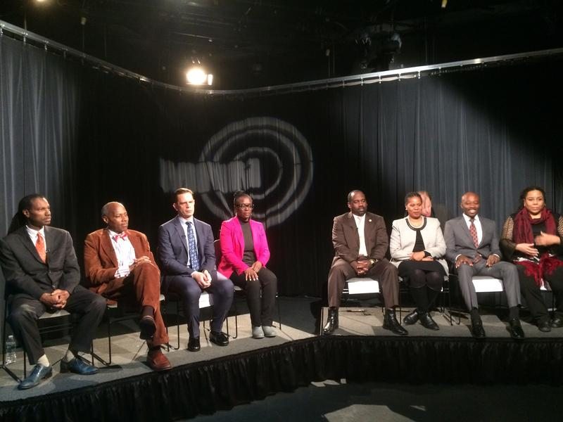 Eight of the nine candidates running in the Feb 14, 2017 special election for City Council in Harlem