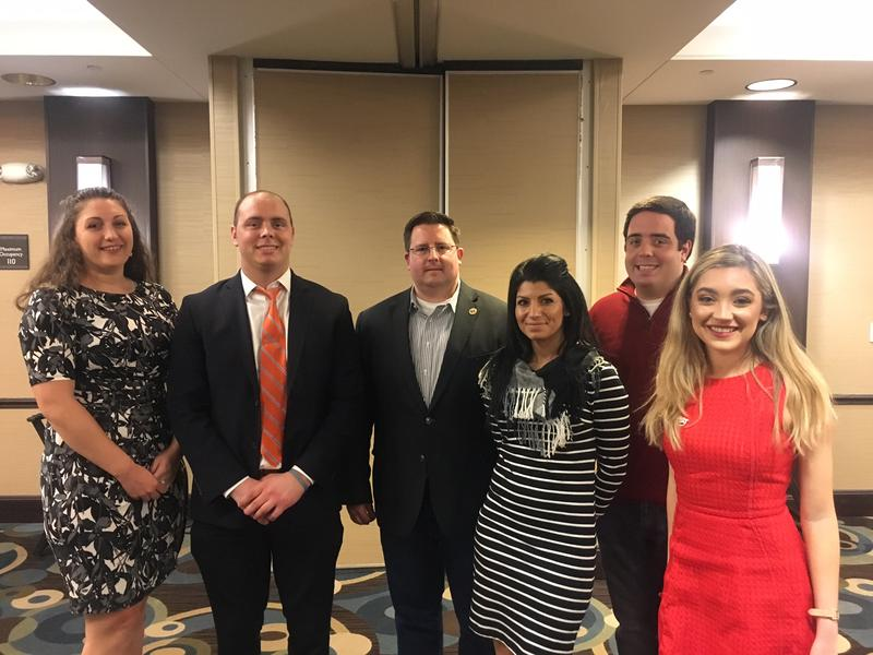 Members of the Morris County Young Republicans, at a Governor's Forum the group hosted in Rockaway, New Jersey.