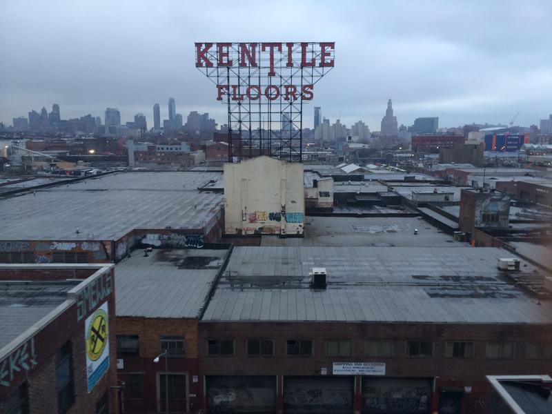 Gowanus' Kentile Floors Sign is Over 50 Years Old