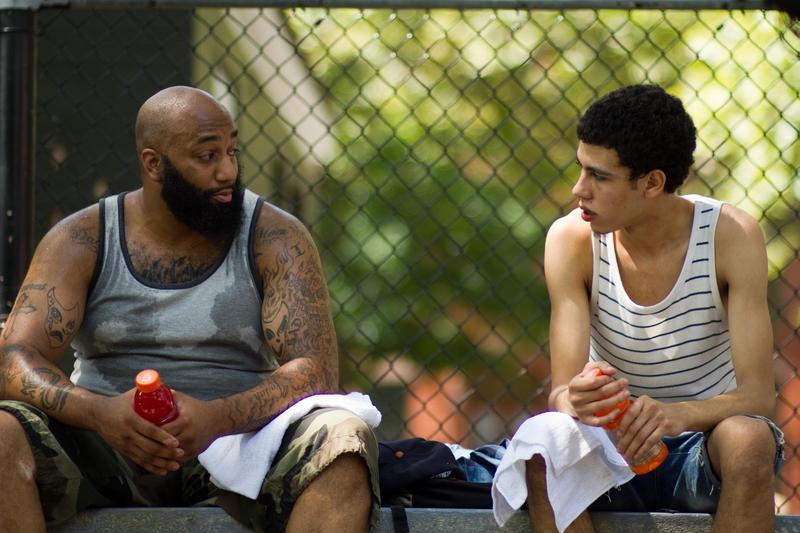 "James 'Primo' Grant and John Diaz as John in the drama film ""FIVE STAR"" an XLrator Media release."