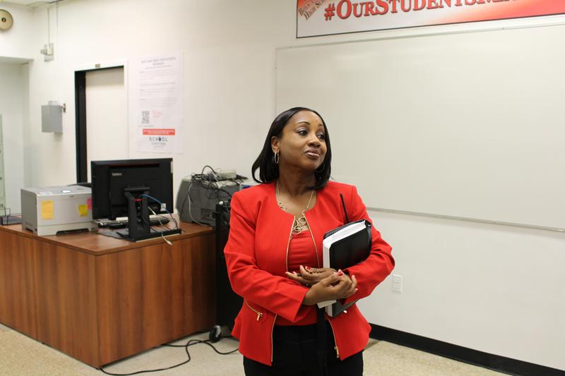 Grecian Harrison was named principal of Boys and Girls High School in July.
