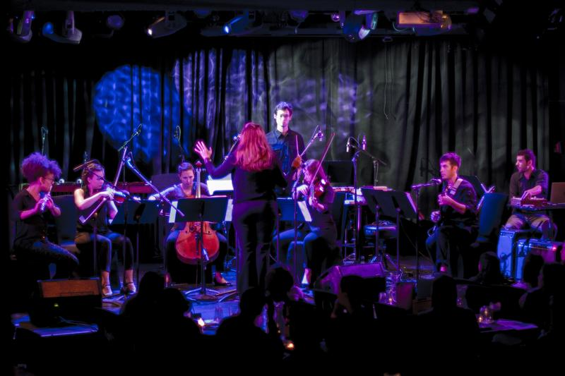Hotel Elefant performs at (Le) Poisson Rouge September 14, 2014