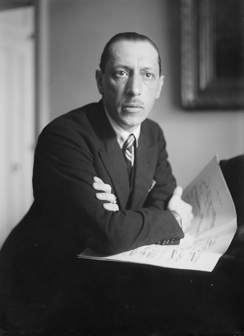 A long-lost Stravinsky composition made its debut in 2016.