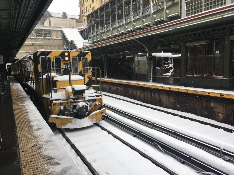 MTA subway stations that are above ground will be closed Wednesday.