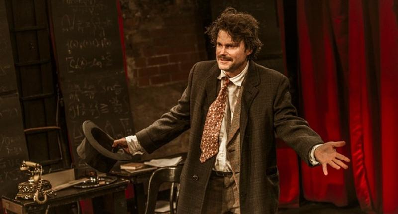 """Actor and playwright Jack Fry in his one-man show, """"Einstein!"""""""