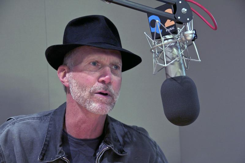 Composer John Luther Adams in the studio