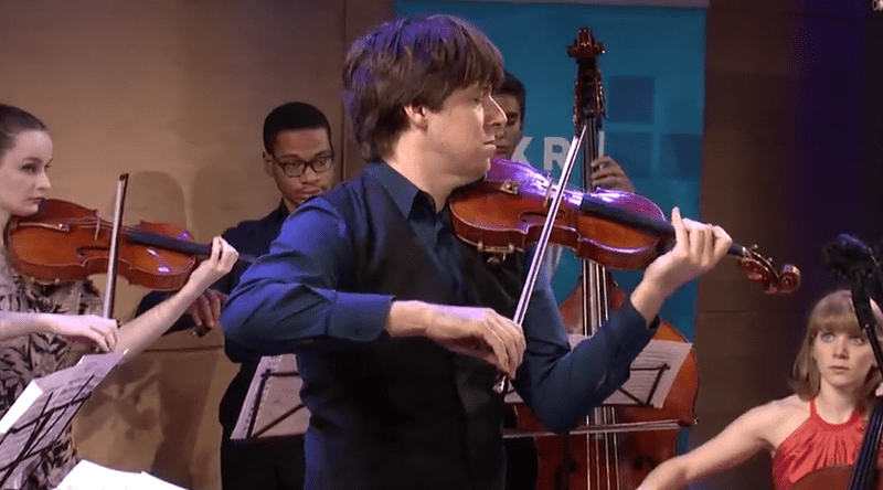 Joshua Bell, live in the Greene Space