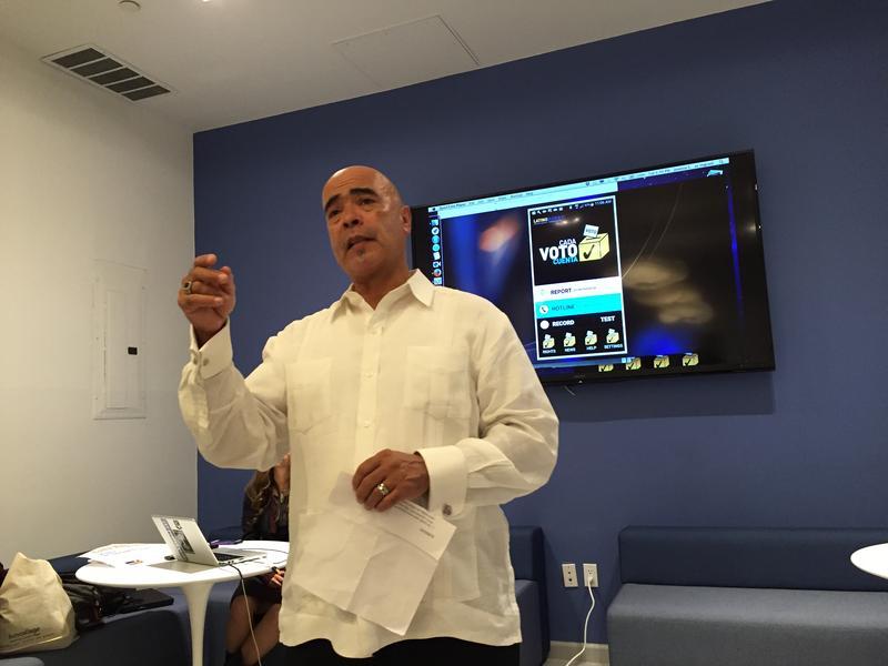 LatinoJustice president Juan Cartagena explains why his group designed the Cada Voto Cuenta app.