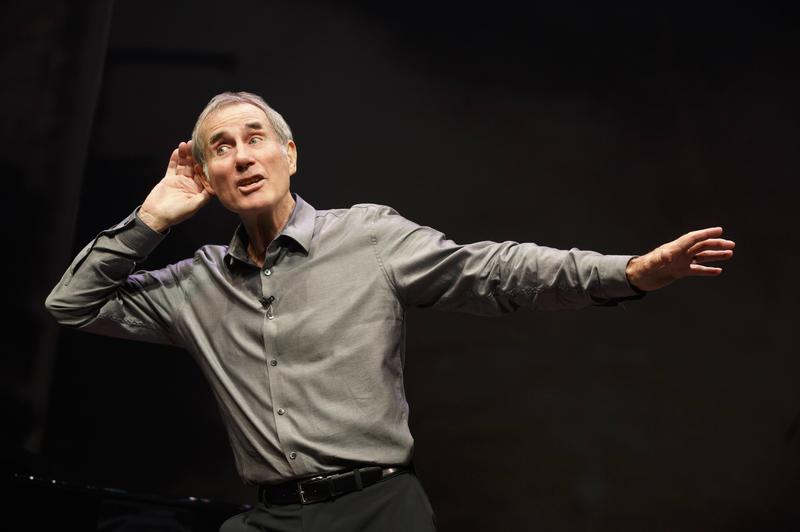 Jim Dale in the autobiographical show 'Just Jim Dale.'