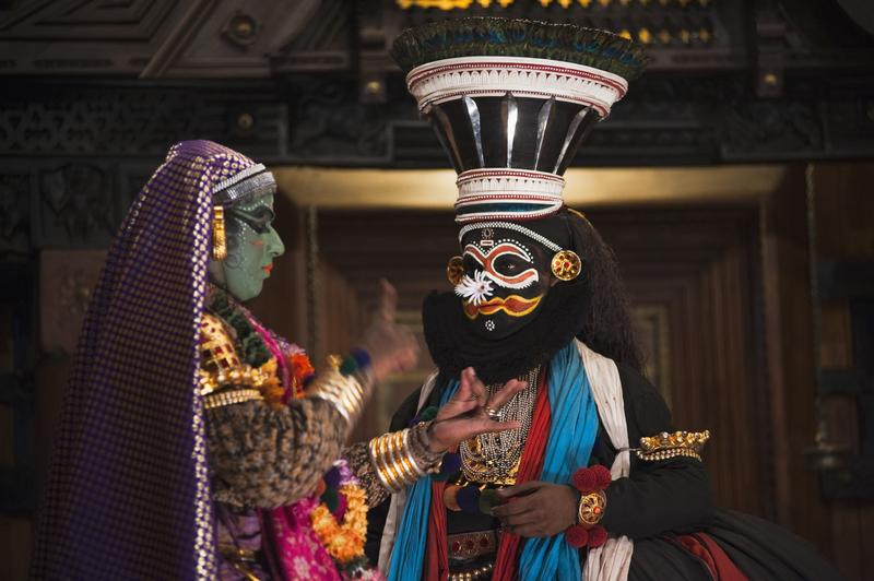 Kathakali, Indian dance-drama, will be performed at Lincoln Center's White Light Festival.