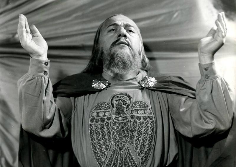 Alexander Kipnis as Gurnemanz in the Metropolitan Opera's 'Parsifal'