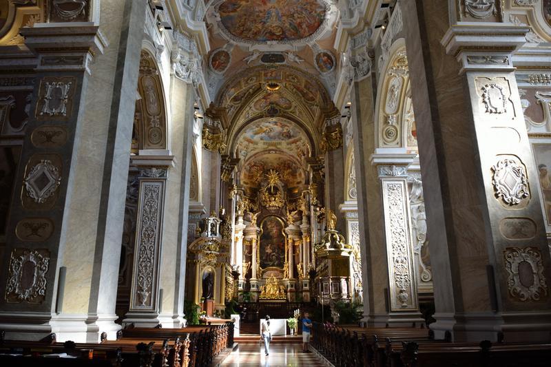 Klosterneuburg Monastery in lower Austria.