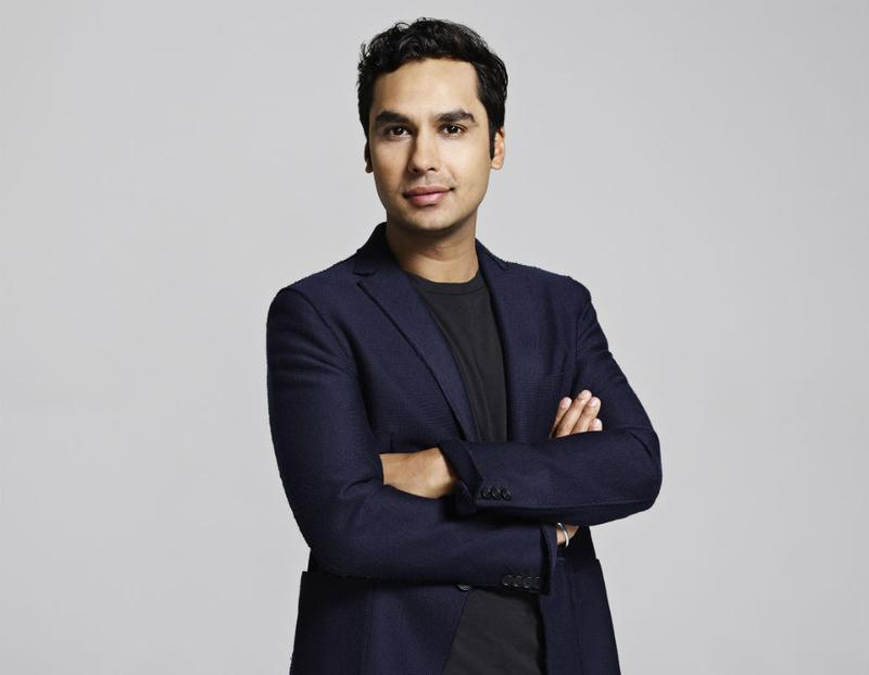 Author Kunal Nayyar wrote the book 'Yes, My Accent Is Real.'