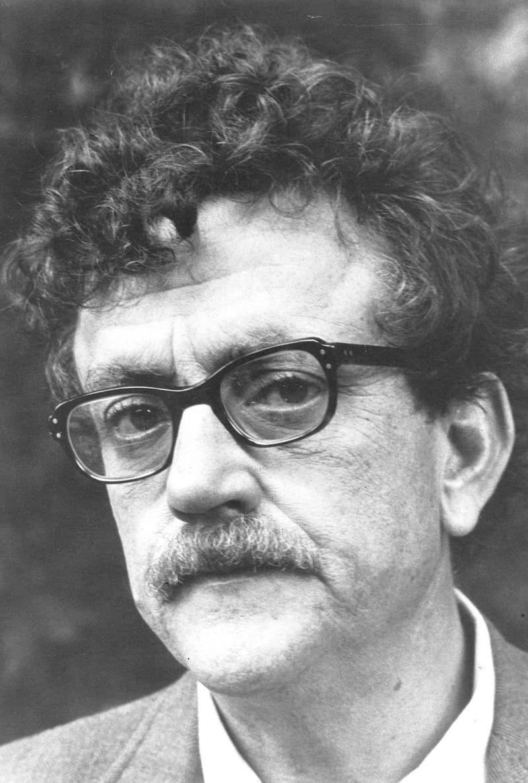 Novelist Kurt Vonnegut, February 17, 1972.