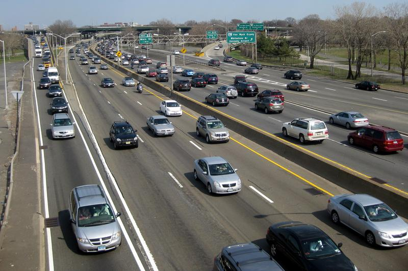The Long Island Expressway in Queens
