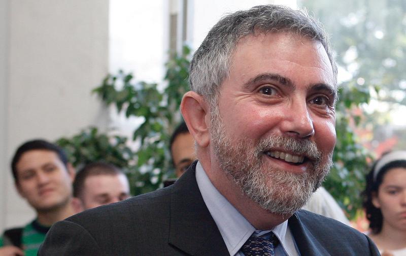 Paul Krugman at Princeton