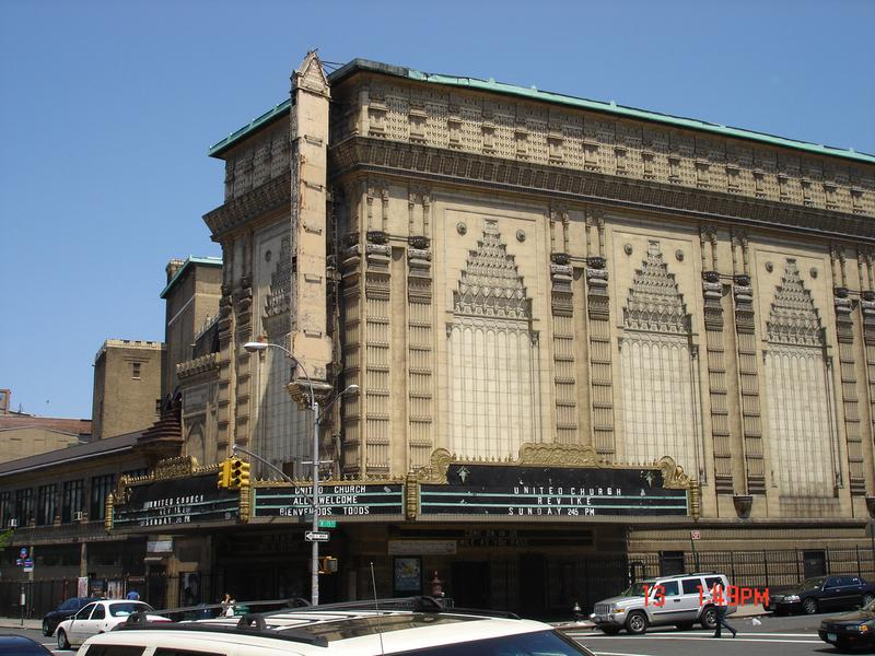 United Palace Formerly Known as Loews 175th Street Theatre