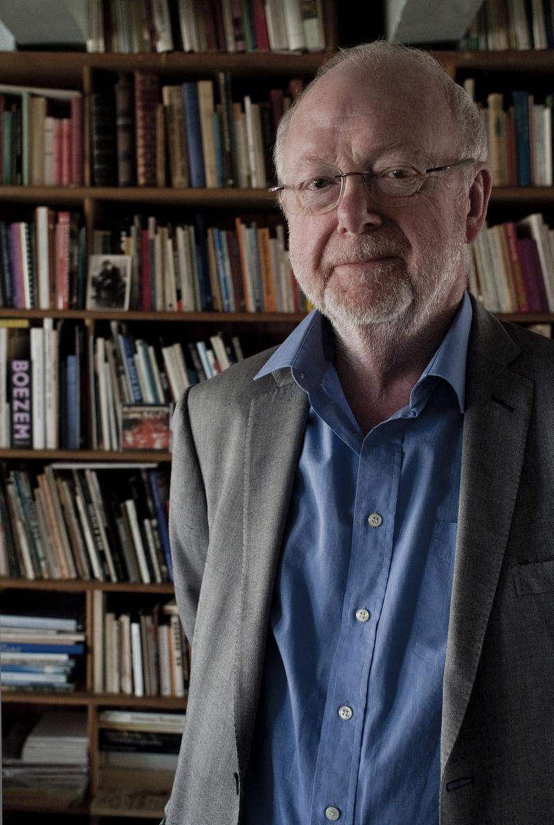 Composer Louis Andriessen poses for a portrait.