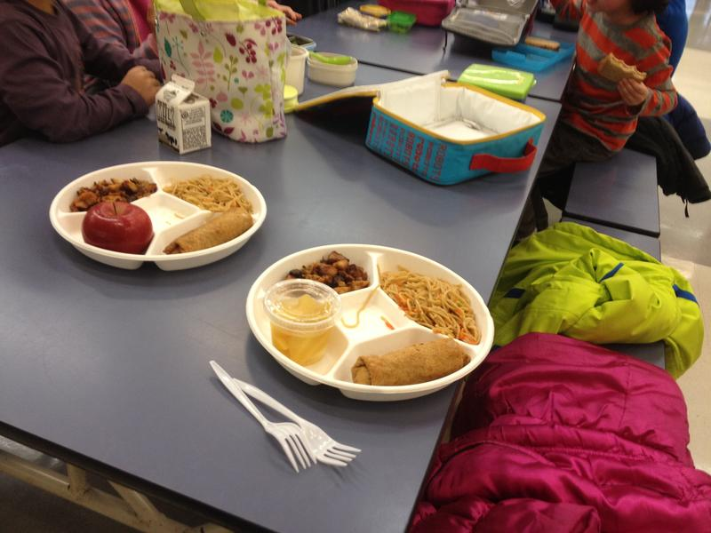 Lunch Served at P.S. 89 in Manhattan