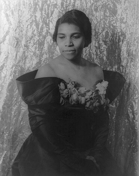 Marian Anderson, contralto, in 1940