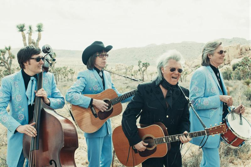 """Marty Stewart and the Superlatives / """"Way Out West"""" (reprinted with permission from Alysse Gafkjen / Q Prime)"""