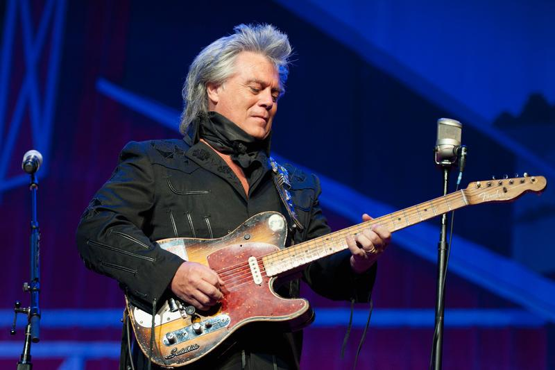 Marty Stuart performs during Marty Stuart's 13th Annual Late Night Jam at the Ryman Auditorium on June 4, 2014, in Nashville, Tennessee.