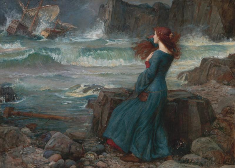 'Miranda' by John William Waterhouse.