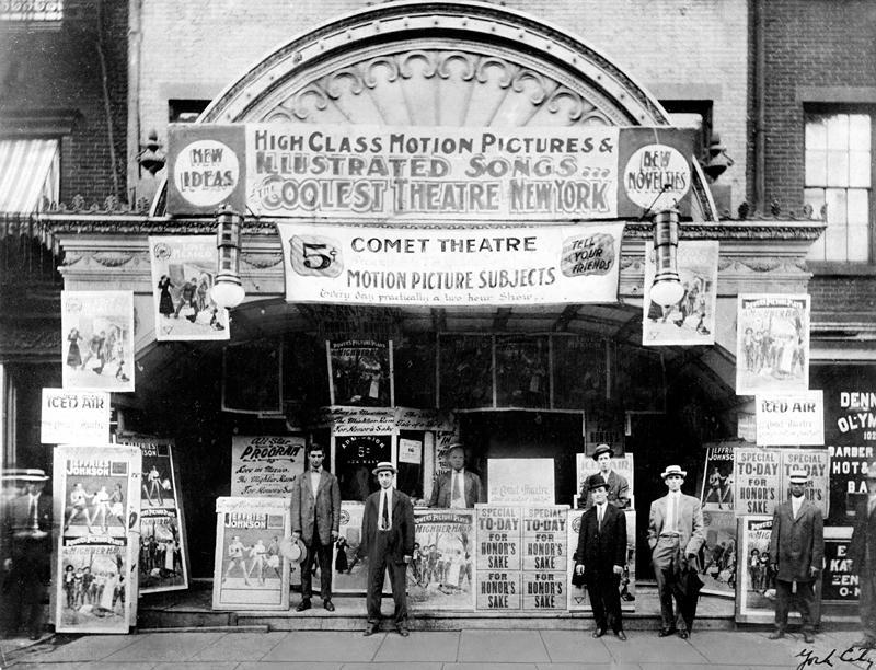 Movie theatre, 1917