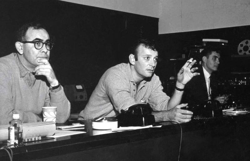 "Bert Berns (center) on the album cover for ""The Bert Berns Story - Mr Success Volume 2: 1964-1967."""