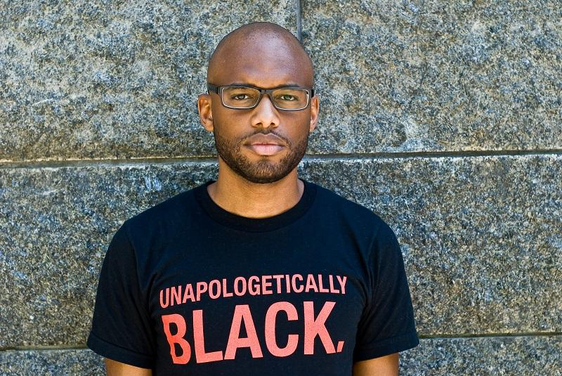 """Mychal Denzel Smith discusses his book, """"Invisible Man, Got the Whole World Watching."""""""