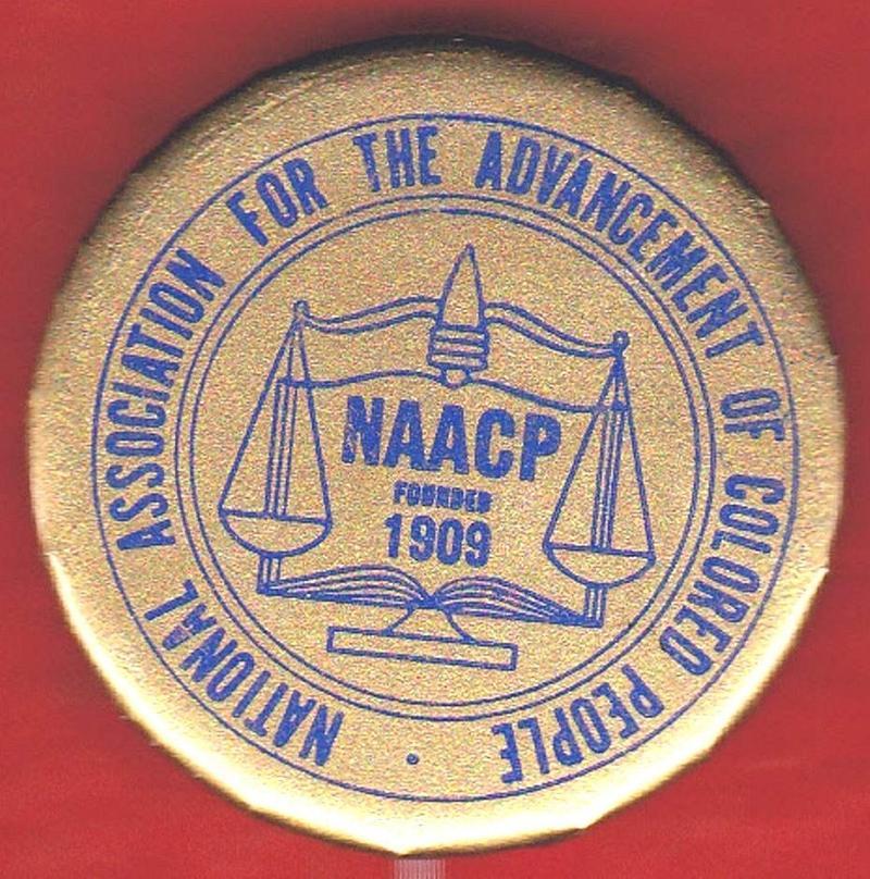 NAACP pin