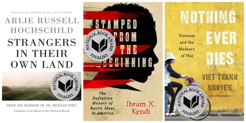 The National Book Award finalists on the Brian Lehrer Show.