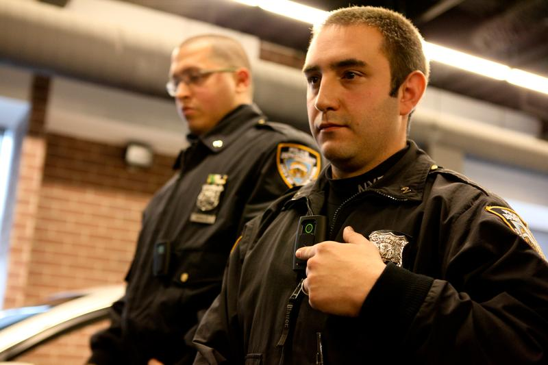 The NYPD is set to outfit 1,200 officers across 20 precincts with body cameras by the end of April, as part of an ongoing pilot program.