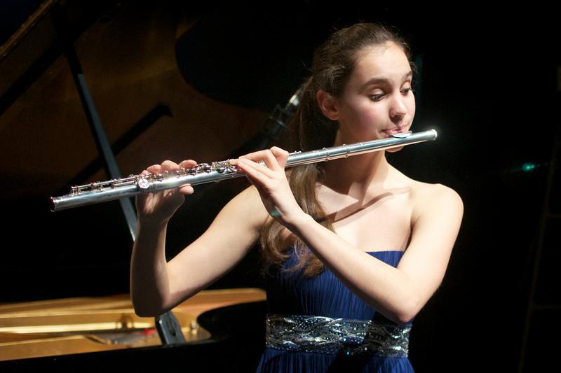 Flutist Olivia Staton.