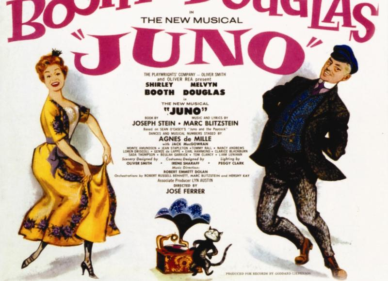 "Original Broadway Cast Recording from 1959's ""Juno"""