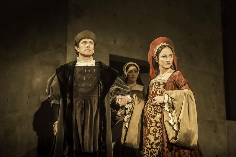 "Ben Miles and Lydia Leonard in ""Wolf Hall""  – West End, Aldwych"