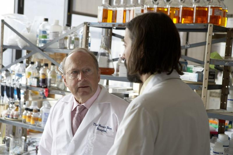 Dr. Peter Palese in his lab.