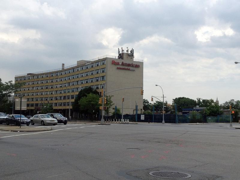 Former Pan American Hotel In Elmhurst Now Being Used As A Homeless Shelter