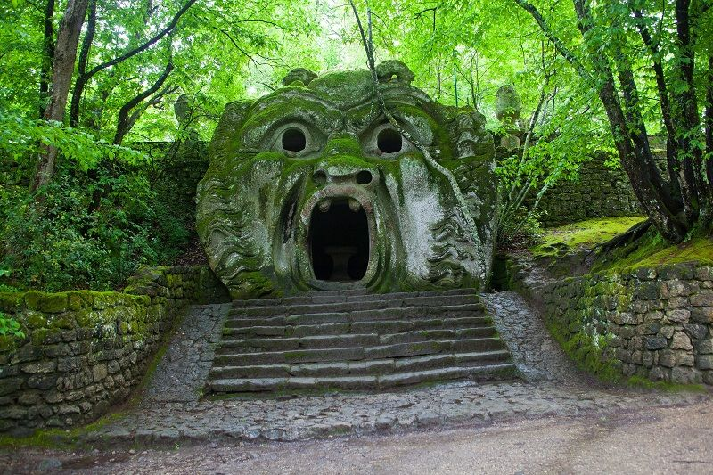 Park of Monsters is a Manieristic monumental complex located in Bomarzo  in northern Lazio, Italy.