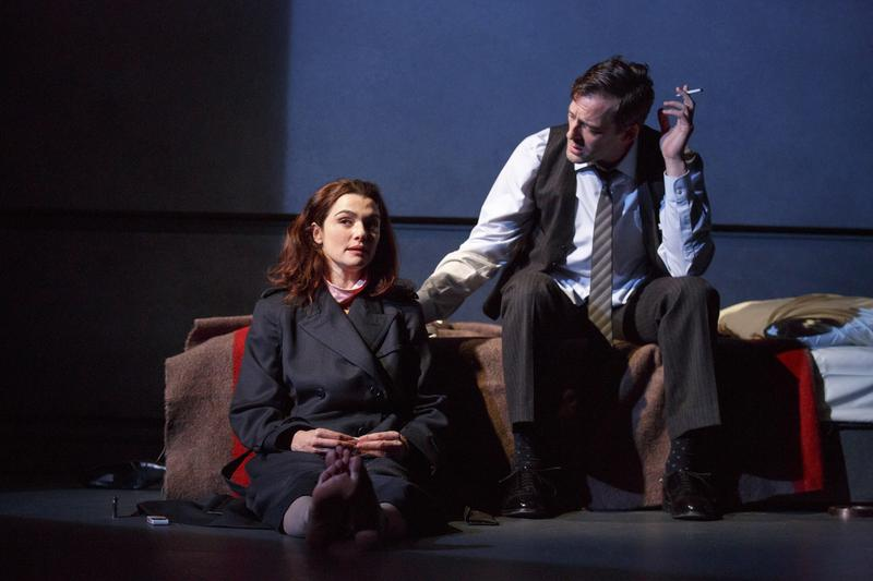 Rachel Weisz and Ken Barnett in the first major New York revival of Plenty, written by David Hare and directed by David Leveaux, running at The Public Theater.