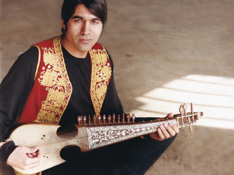 Afghan-American rubab artist Quraishi