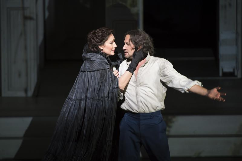 Mariusz Kwiecien as Don Giovanni and Véronique Gens as Donna Elvira in the Royal Opera House production of 'Don Giovanni'