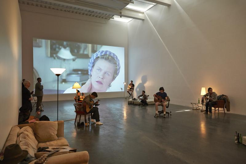 """Ragnar Kjartansson: Me, My Mother, My Father, and I"" New Museum, 2014"