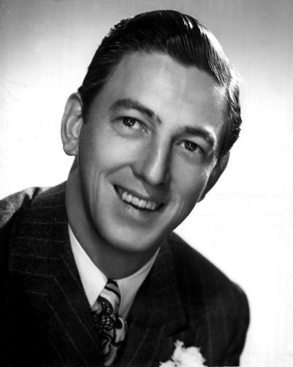 Publicity photo of American entertainer, Ray Bolger, circa 1942, promoting the Broadway production of Rodgers & Hart's musical comedy By Jupiter.