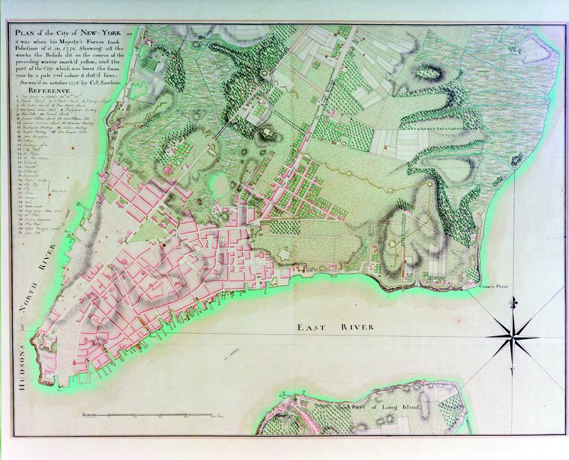 Map Of New York During American Revolution | Cakeandbloom