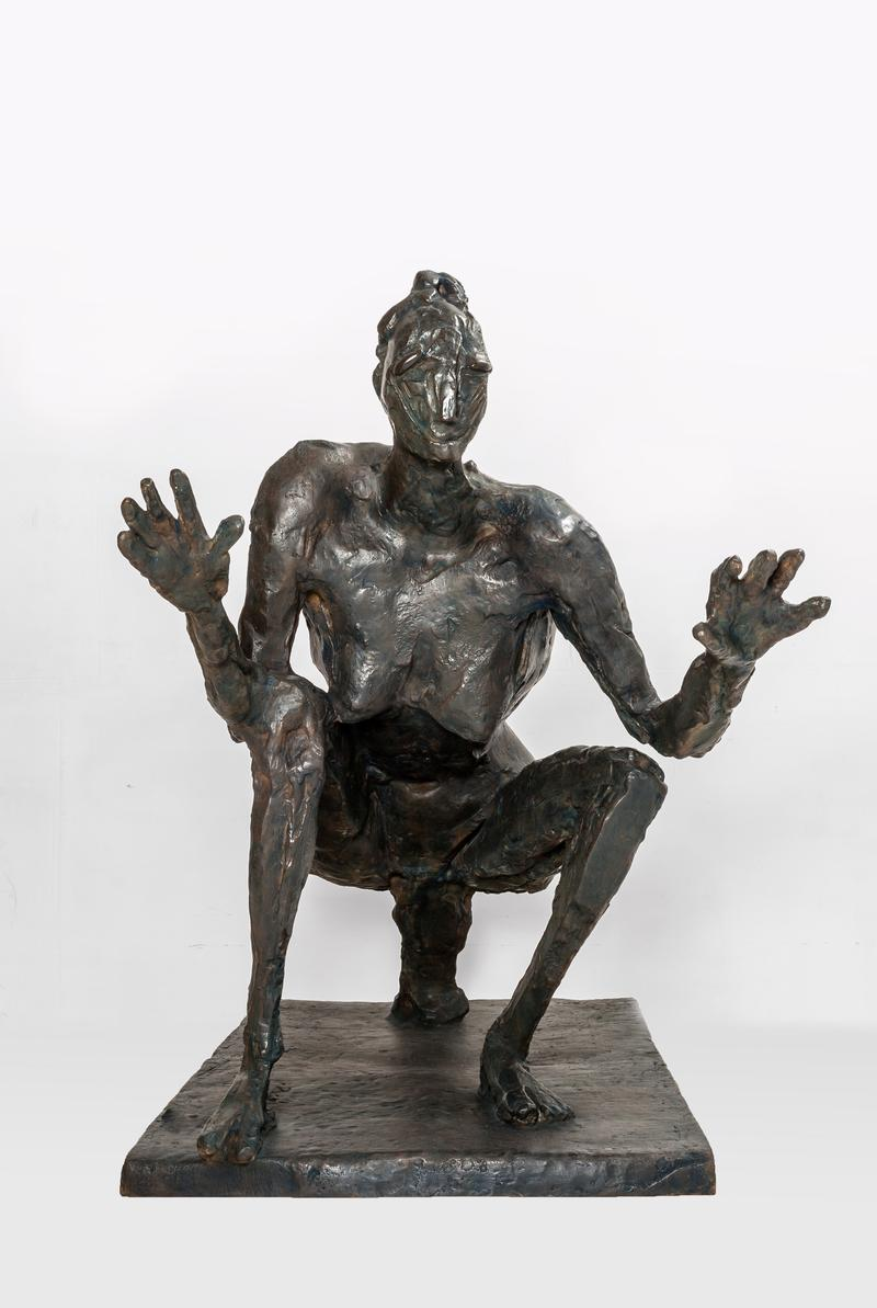 La Sauterelle, 1955-56, by Germaine Richier