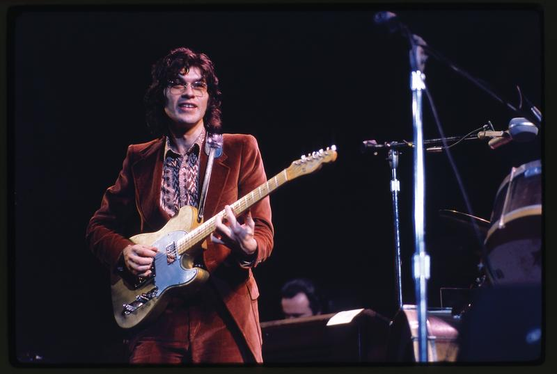 Robbie Robertson at the Academy of Music, December 1971