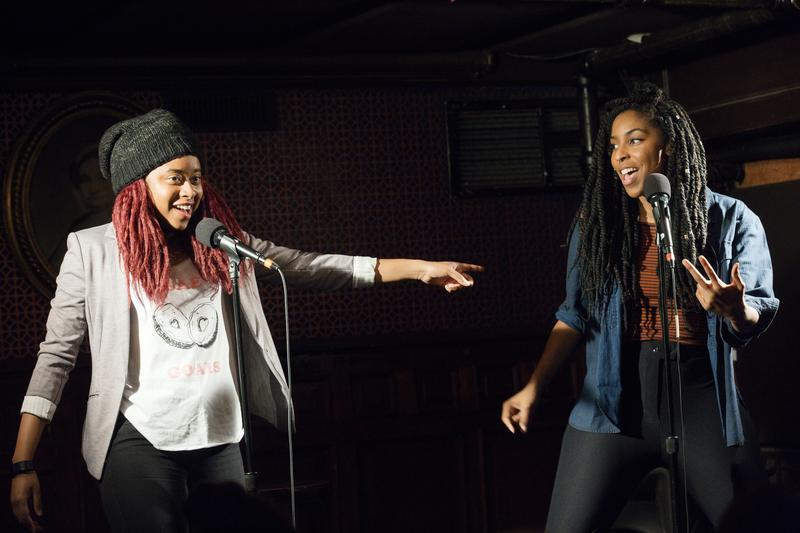Jessica Williams and Phoebe Robinson are hosts of the '2 Dope Queens' podcast