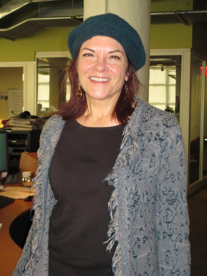 Rosanne Cash in the WNYC studios