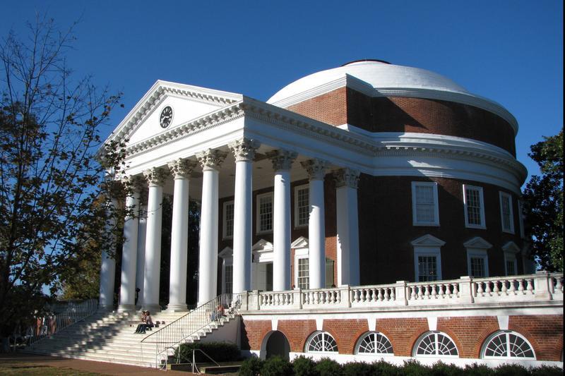 The Rotunda at the University of Virginia (UVA)